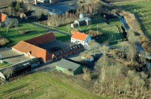 Luftfoto af Skærum Mølle