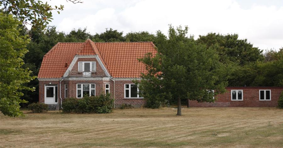 Skærum hus tilhørende Skærum Mølle