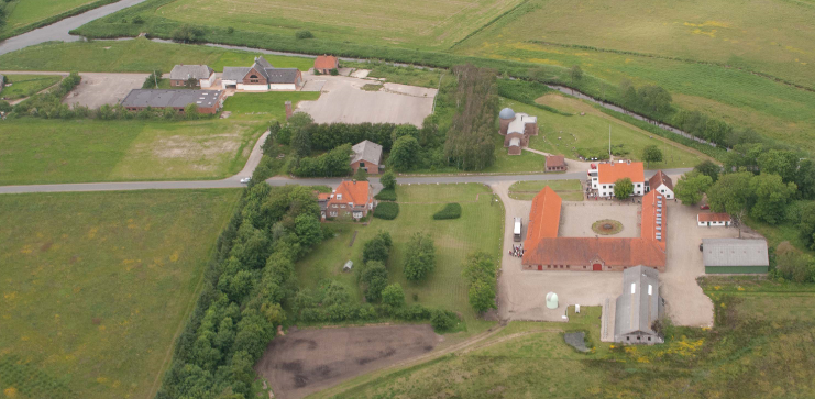 Om folkeuniversitetscenteret på Skærum Mølle